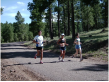 Photo of retreat runners in the mountains