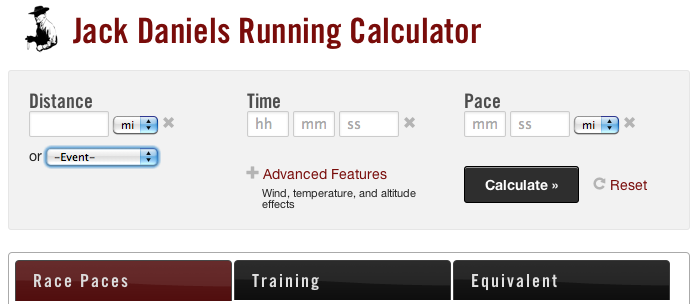 Introducing Jack Daniels' Running Calculator | Run S M A R T