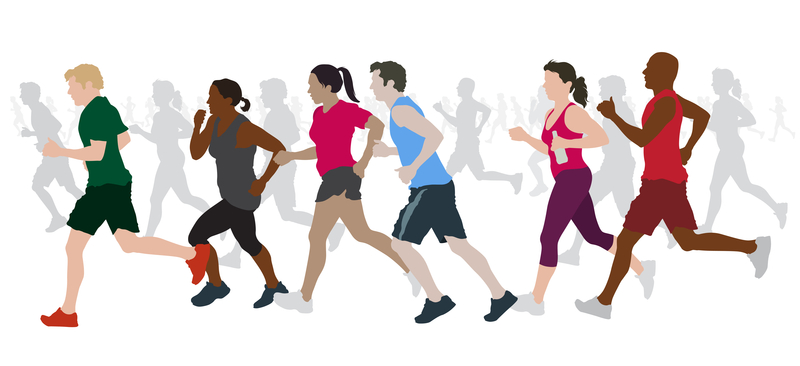 http://www.dreamstime.com/royalty-free-stock-images-group-marathon-runners-image21347359